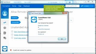 how to fix teamviewer 14 trial period has expired - TH-Clip