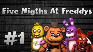 Five Nigths At Freddy #1 Primer Video Del Año Cumplamos Mi Meta :D