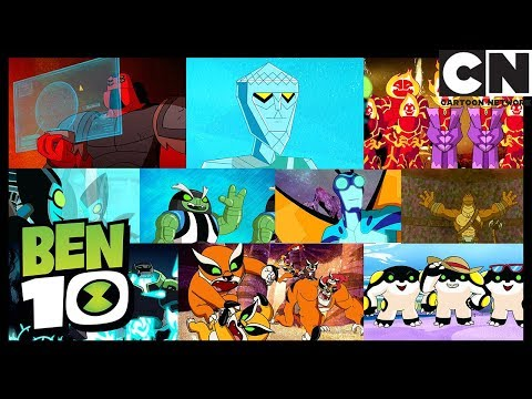 Ben 10 Alien Worlds 3 | All Aliens Compilation | Cartoon Network
