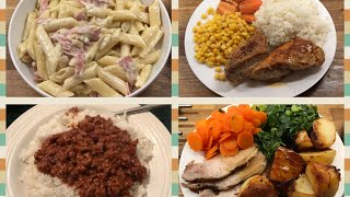 Week of Family Meals 17/12-23/12