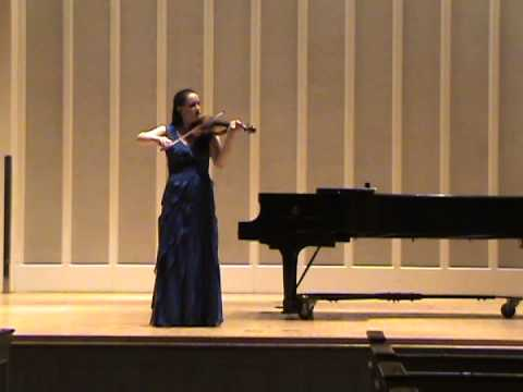 Bach Sonata No. 3 in C, Largo, Allegro Assai