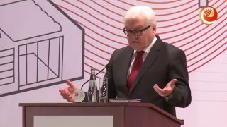 BETD2016 Dr. Frank-Walter Steinmeier - Federal Foreign Minister, Germany