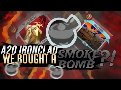 We BOUGHT a Smoke Bomb?! | Ascension 20 Ironclad Run | Slay the Spire