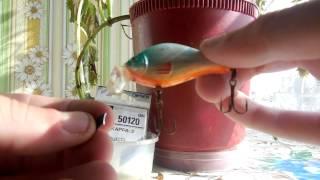 Воблер mikado crawler 6 см. 04 - тонущий