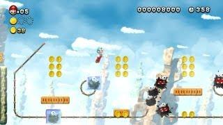 New Super Mario Bros. U - Mines Candi-1 - Attention, route verglacée ! (Wii U)