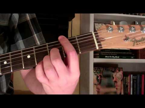 How To Play the F#7-9 Chord On Guitar (F sharp 7th minor 9th)