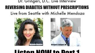 Live From Seattle with Michelle Mendoza  -  Dr. Gringeri, DC intereview LIVE