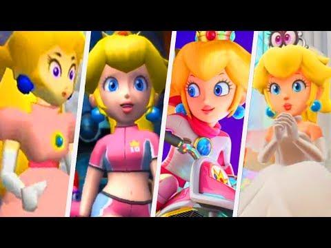 Evolution of Peach's Voice in Super Mario Games (1996 - 2017)