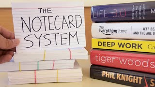 The Notecard System: The Key to Making the Most Out of Your Reading