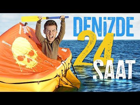 24 SAAT DENİZDE MAHSUR KALMAK!