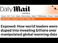 NOAA vs Mail on Sunday  FACT CHECK