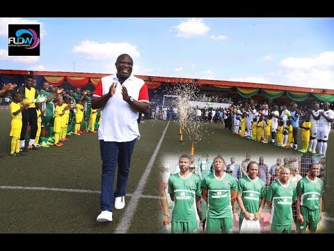 AGEGE STADIUM AGOG AS AFRICAN FOOTBALL LEGENDS PLAY FOR AMBODE