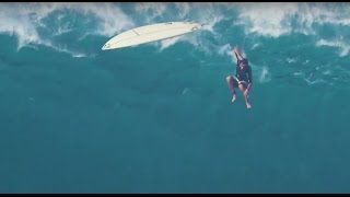 Tom Dosland's Epic Wipeout at Jaws | Volcom Pipe Pro 2016