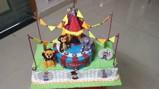 Circus Light Cake