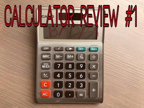 Calculator Review #1 – Casio MS-80B
