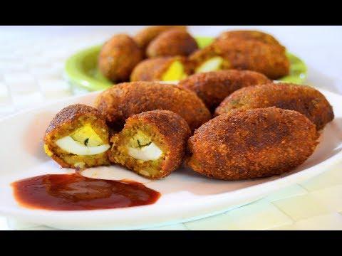 ഇഫ്താർ സ്പെഷ്യൽ മുട്ട കബാബ് /Egg Kabab/Easy Potato -Egg Snack