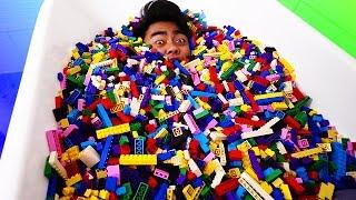 LEGO BATH CHALLENGE!
