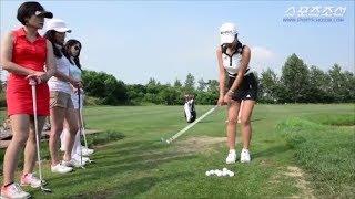 アンシネスイング動画の紹介ゴルフ