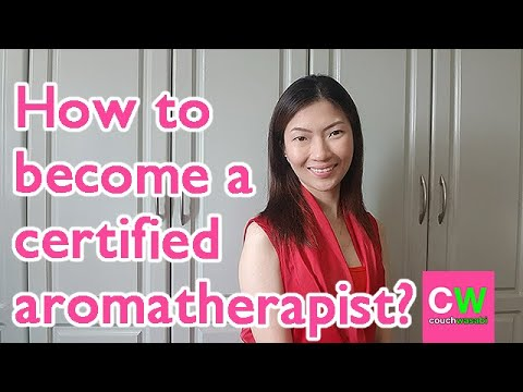 How to become a certified aromatherapist? | couchwasabi - YouTube
