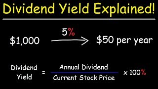 The Dividend Yield - Basic Overview