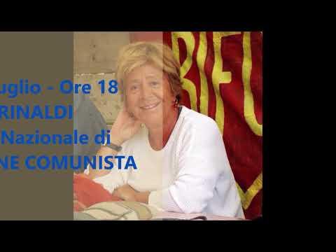 Programma festa provinciale Rifondazione Comunista - Federazione di Pavia