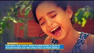 Conheça Kiara, A Cantora Que Vende Pulseiras Para Ajudar Os Pais