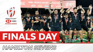 HIGHLIGHTS   Men's action from finals day in Hamilton