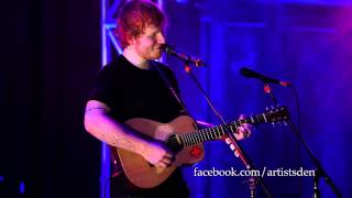 """Video thumbnail of """"Ed Sheeran - Wake Me Up (Live From The Artist's Den)"""""""
