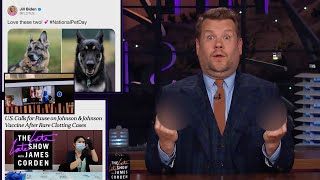 Presidential Pup Talk - Corden Catch Up