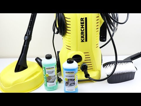 Kärcher K2 Premium Full Control Car and Home Pressure Washer Review & Demonstration (2019)