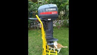 Cara saya flushing enjin sangkut (flushing Yamaha Enduro 30HP)
