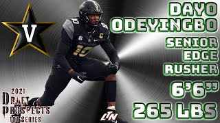 2021 NFL Draft Prospects 101  |  EDGE Dayo Odeyingbo  |  Strengths, Weaknesses, Projection & Comp