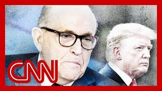 trump tries to distance himself from rudy giuliani