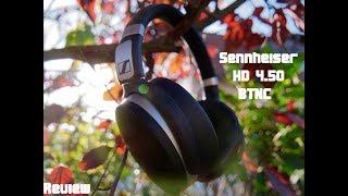 Bluetooth Kopfhörer mit Noise Cancelling | Sennheiser HD 4.50 BTNC | Review [4K]