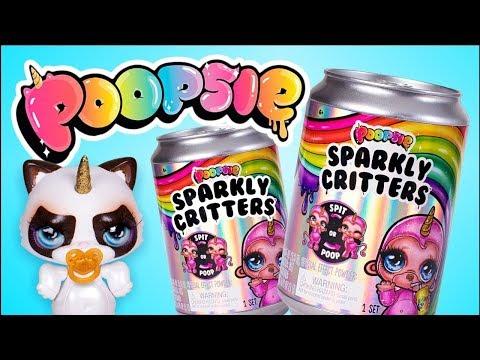 Poopsie Schleim-Überraschung | Schleim-Zeit: Junk Foodie Doodies! | Funkelnde Kreaturen