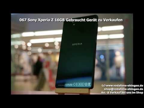 067 Sony Xperia Z 16GB Gebraucht Gerät zu Verkaufen