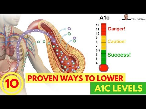🍬 How To Lower Your A1C Levels -  10 Easy & Clinically Proven Ways - by Dr Sam Robbins