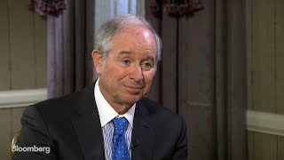 Schwarzman Weighs In on Trade, Geopolitical Risks and Real Estate