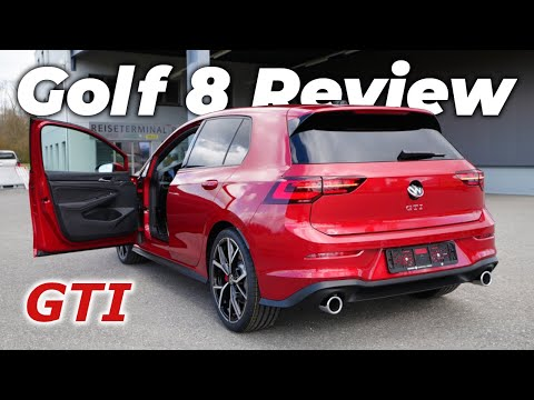 New Volkswagen Golf 8 GTI 2021 Review Interior Exterior