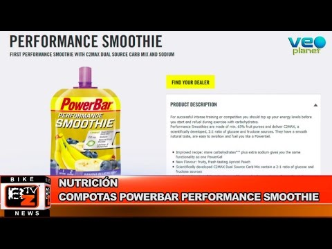 Bikenews 18/05/2015 - Nuevas Compotas PowerBar Performance SMOOTHIE