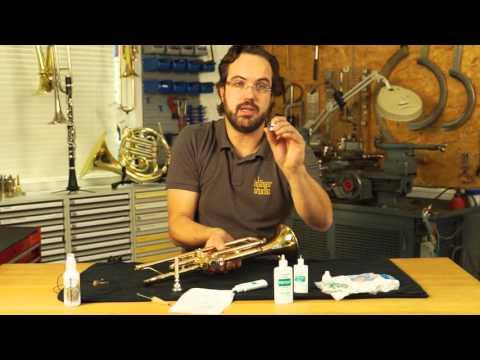 Blasinstrumenten Pflegeanleitung : Trompete und Perinet-Instrumente ( Pumpventile )