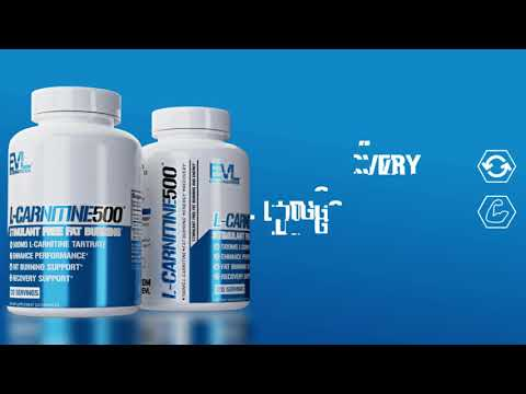 EVLution Nutrition, L-Carnitine500، عدد 120 كبسولة