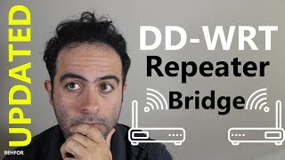 How to setup DD-WRT Repeater Bridge (UPDATED)