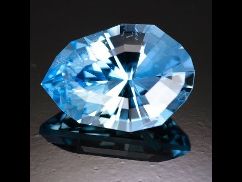 Aquamarine from Madagascar 9.45 Carats