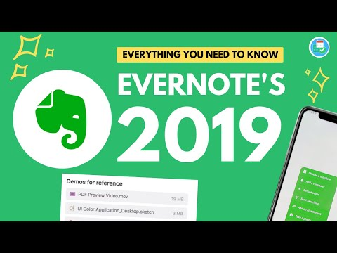 Evernote's Upcoming Features in 2019