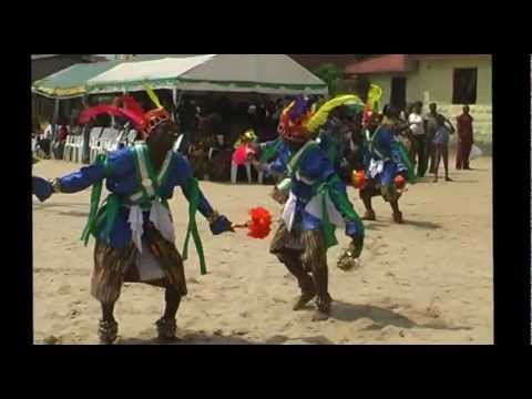 THE FINEST DISPLAY OF OPOBO ACROBATIC DANCERS...FESTOUR
