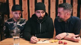 Chili Tasting With Adam & Noah   2 Danish Comedians + Eng. Subtitles