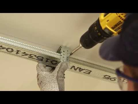 How to install GypLyner UNIVERSAL ceiling lining (RMFY) | British Gypsum