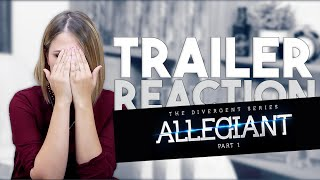 TRAILER REACTION  Teaser Divergente 3