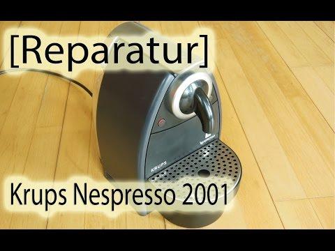 [Reparatur] Krups Nespresso 2001
